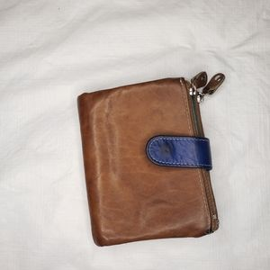 Galeria kaufhof leather wallet made in Germany